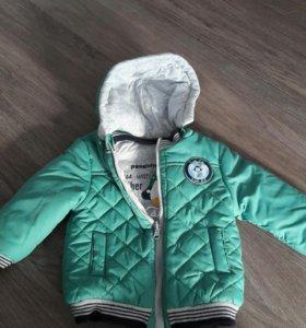 Куртка двухсторонняя на мальчика