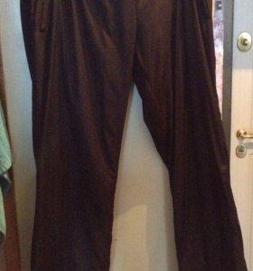 Тёплые брюки для беременной 54 размер