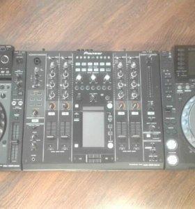 Pioner CDJ-2000NXS и DJM-2000NXS