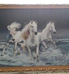 Картина гобелен 125×65