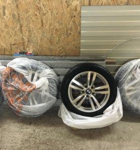 Продам комплект летних колес R17 Nokian Hakka