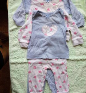 Пижамы мазекеа 62-68