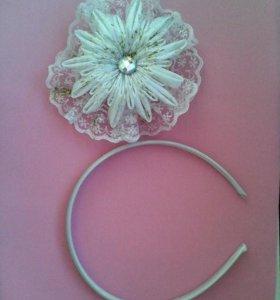 Ободок снежинка - 250 р в любом цвете, короны