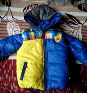 Зимняя куртка+желетка