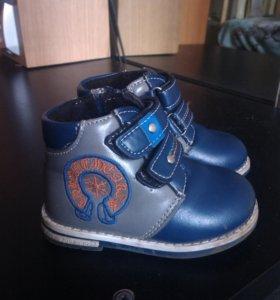 Осении ботинки