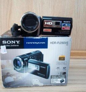 Продам видеокамеру Sony HDR -PJ260VE