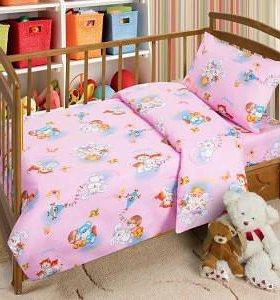 Продам КПБ бязь в детскую кроватку