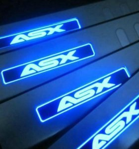 Пороги с подсветкой для Mitsubishi ASX