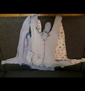 Комплект пижам+шапочки для сна mothercare