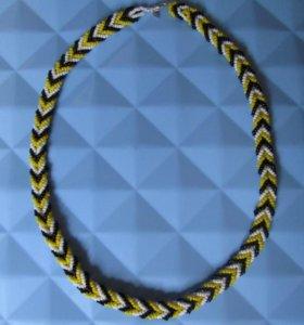 Ожерелье, ручная работа