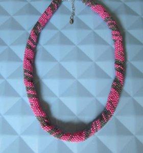 Ожерелье , ручная работа