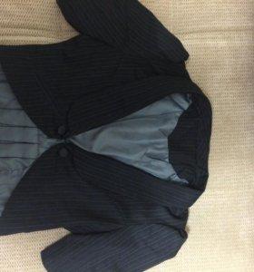 Пиджак куороченный