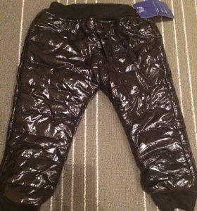 Утеплённые детские штаны