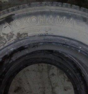 Летняя резина, YOKOHAMA 195/65 диаметр 15