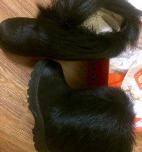 Детская обувь( унты)