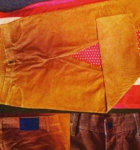 Брюки вельветовые джинсы