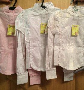 Новые блузки для девочек