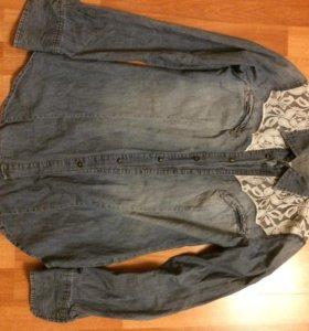 Рубашка джинсовая Риноскименто