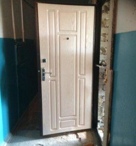 Металлические двери с порошковой окраской