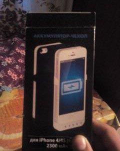 Iphone 4S Аккумулятор-чехол