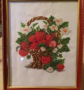 Картина Корзина с ягодами