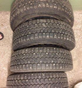 Комплект зимних колёс на штампованных дисках