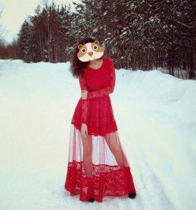 Эфектное платье