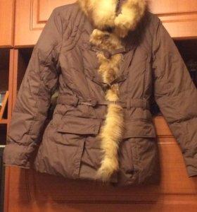 Зимняя куртка,с мехом