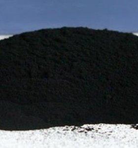 Строительная сажа(черный пигмент).