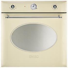 Духовой шкаф Smeg SС855PX, цвет кремовый