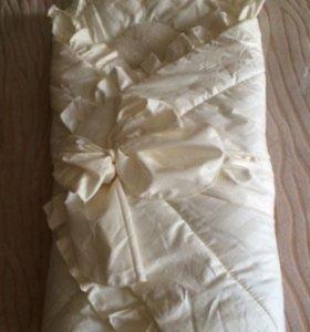 Одеяло на овчине можно на выписку
