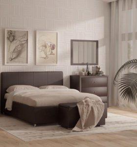 Кровать мягкая 1400х2000