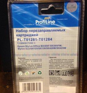 Перезаправляемые картриджи EPSON Profiline