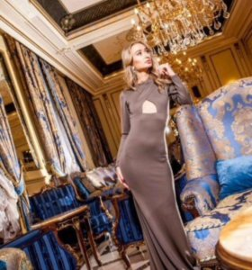 Новое платье Lipinskaya brand