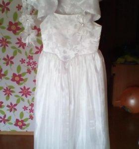 Платья и блузки на девочку 6-7 лет
