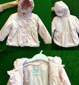 Демисезонная детская куртка Pampolina