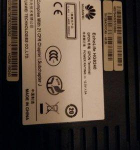 Роутер ADSL оптоволокно без wi-fi