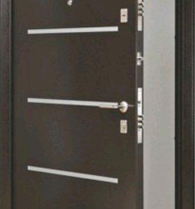 Входная дверь с установкой Бульдорс Lazer-24 Б.Дуб