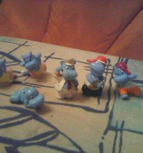 Игрушки из киндеров