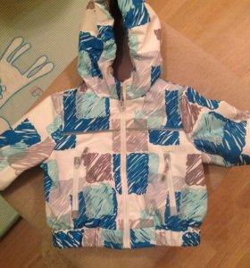 Осенне-весенняя куртка на мальчика рост 80
