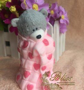 Мыло Тедди в одеяле
