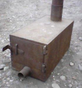 Печка размер ш30см,в30см,д60см,т4мм.