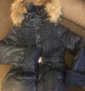 Куртка зимняя 134-146см.
