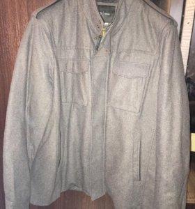 Мужское укорочённое пальто