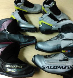 Лыжи и ботинки.( Финляндия)
