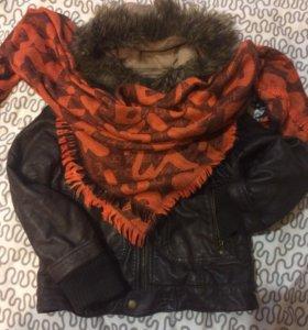 Zara куртка весна- осень