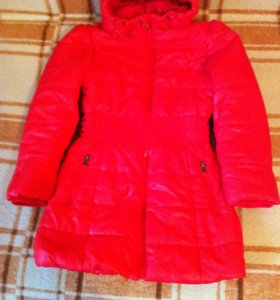 Пальто рост 122-128 в идеальном состоянии