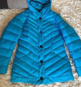 Куртка на весну на тонком пуху 46-48 р