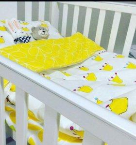 Комплект постельного белья, handmade