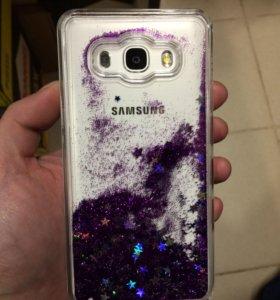 Жидкий чехол на Samsung Galaxy J5, J6